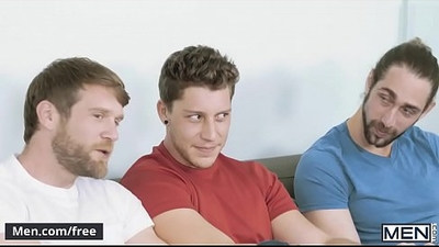 Colby Keller, Jacob Peterson, Paul Canon, Roman Cage, Trevor Long My Whore Of A Roommate Jizz Orgy