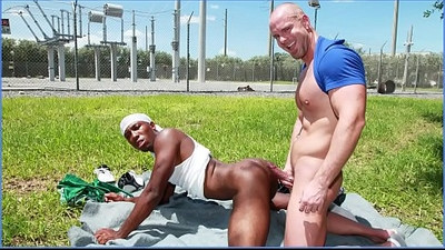 GAYWIRE Black Thug JP Richards Sells His Ghetto Booty To Mitch Vaughn