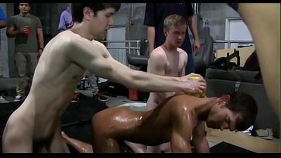 Gay erotic massage movie scene