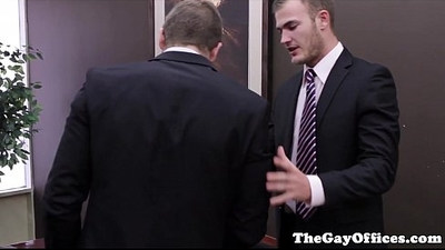 Tattooed officestud rams applicants asshole