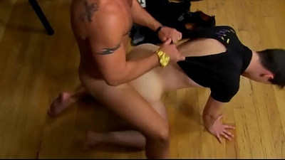 Twink gets his butt fucked hard from jock from nehind