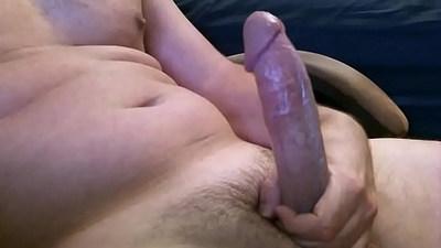 Huge Cock Cum Handjob