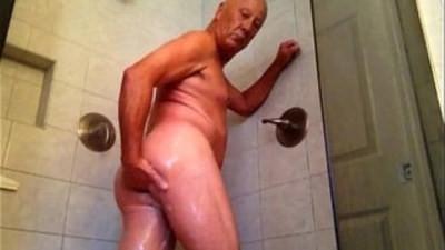 Enjoying my shower