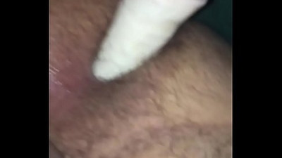 19 year old with a big dildo