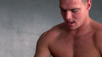English muscled shirt lifters anal drill