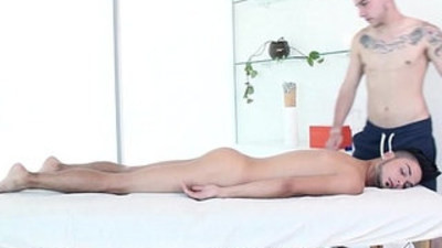 GayRoom Massage Bait Gabriel Knight Pounded by Dimitri Kane