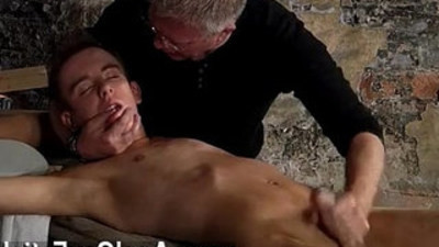 Hot gay sex British youngster Chad Chambers is his latest victim