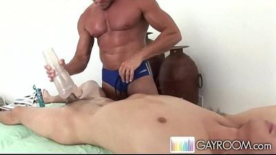 Noah Deep hard Anal Massage.