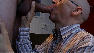 Facial Feeding My Office Cum Whore
