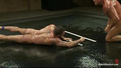 Tyler Saint Vs Alessio Romero The Oil Match Fucking Hot!