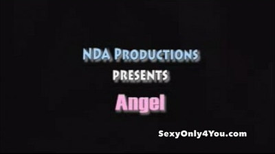 Angel Dark fucked in the bed